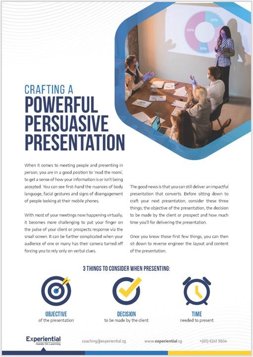 Crafting Persuasive Presentation Thumbnail 1